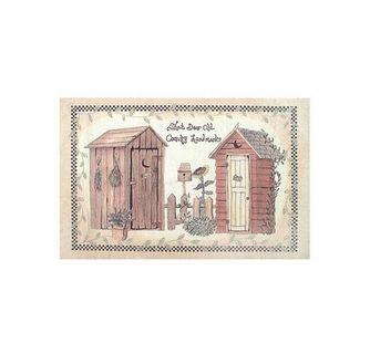 Outhouses Bath Rug By Avanti Outhouse Bathroom Decor Outhouse