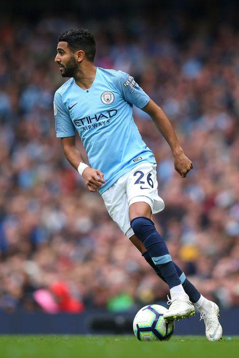 Riyad Mahrez Photos Photos: Manchester City vs. Huddersfield Town - Premier League