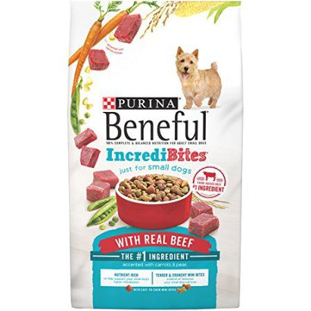 Purina Beneful Incredibites With Real Beef Dry Dog Food 15 5 Lb