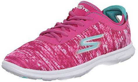 Performance Go Run 6, Chaussures de Fitness Femme, Rose (Pink), 37 EUSkechers
