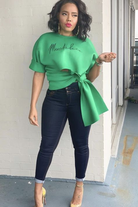 Find tips and tricks, amazing ideas for Angela simmons. Discover and try out new things about Angela simmons site Trend Fashion, Look Fashion, Fashion Clothes, Runway Fashion, Autumn Fashion, Fashion Outfits, Tokyo Fashion, Chanel Fashion, Hipster Fashion
