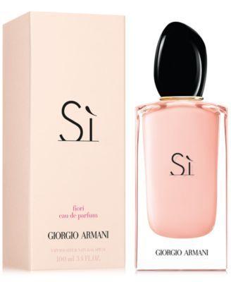 be577cb1ea Giorgio Armani Si Fiori Eau de Parfum Spray, 3.4-oz. in 2019 ...