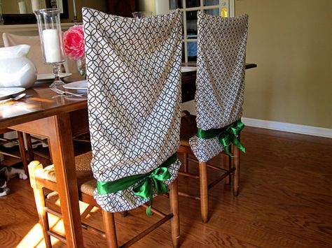 Knitting Sewing No Sew Pillowcase Chair Covers