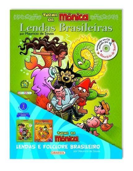 Turma Da Monica Lendas E Folclore Brasileiro Col Cantinho Da