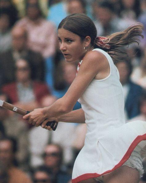 Tennis Classics Tennis Players Female Chris Evert Tennis Hair