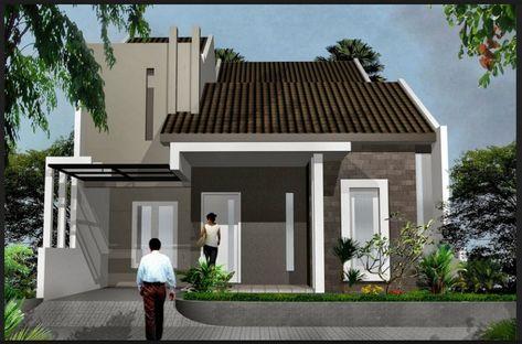 foto bentuk rumah minimalis sederhana satu lantai | rumah