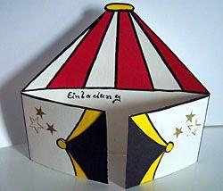 Die 7 Besten Bilder Von Zirkus Circus Crafts Circus Birthday Und