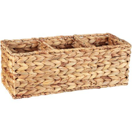 Better Homes And Gardens Weave Basket Brown