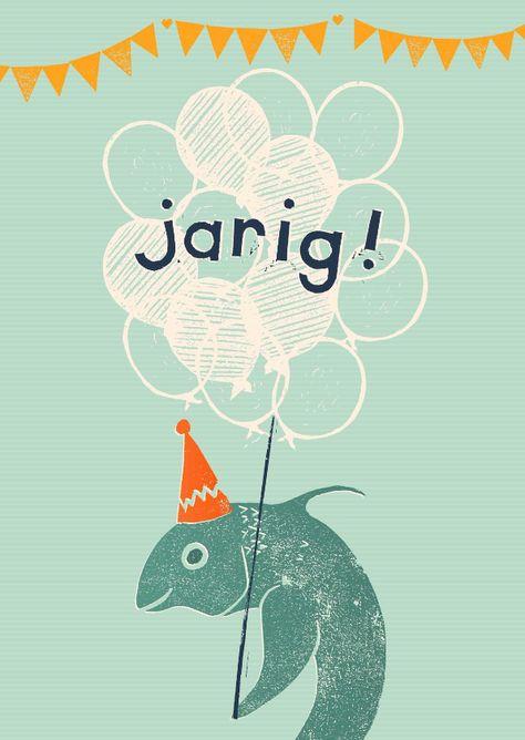 Verjaardag Man Vissen.Afbeeldingsresultaat Voor Verjaardagskaart Vis Vissen Vis