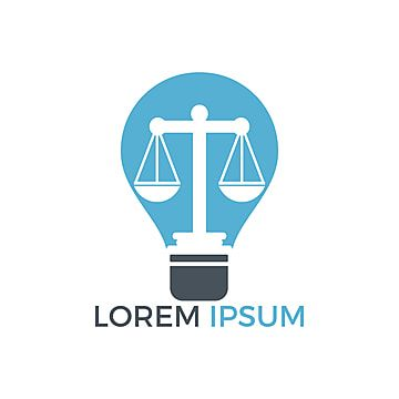 Light Bulb And Scale Of Justice Logo Design Education Legal Services Logo Notary Justice Lawyer Icon Or Symbol Vector Education Logo Design Service Logo Justice Logo