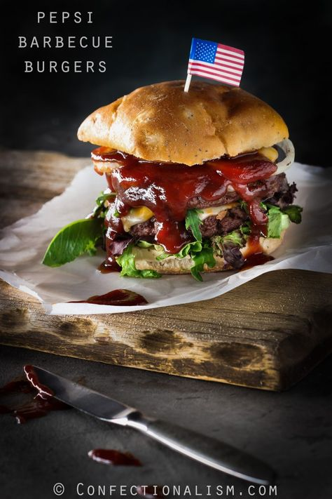 Not your typical burger, this Cuban style recipe has chorizo