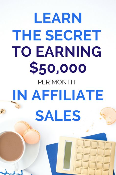 Wanna Earn 50 000 Each Month From Affiliate Incom