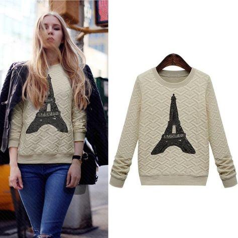 Eiffel Tower sweatshirt Brand new Jackets & Coats