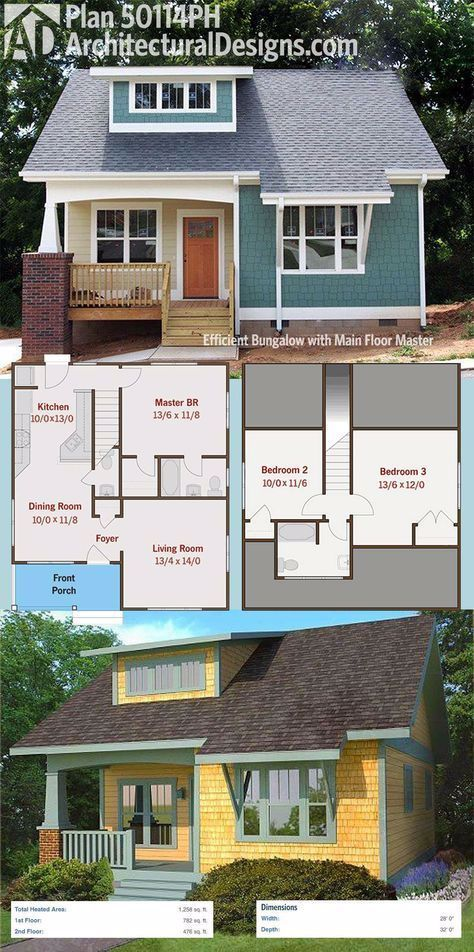 House Plans Farmhouse 1000 Sq Ft 39 Best Ideas In 2020 Bungalow House Plans House Plans Farmhouse Craftsman House Plans