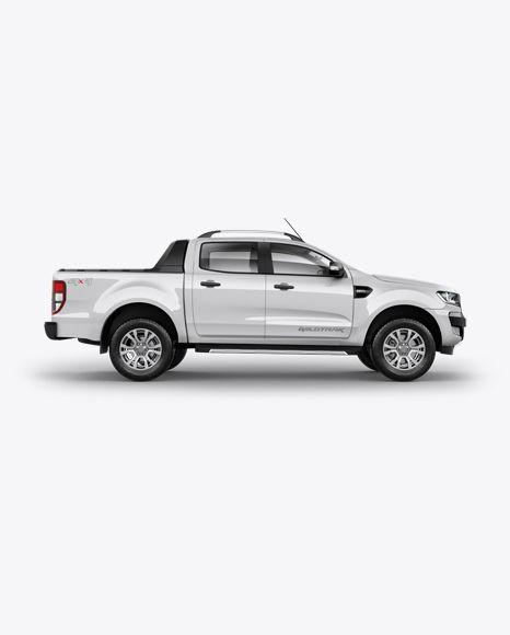 Download Pickup Truck Psd Mockup Right Viewtemplate Mockup Free Psd Mockup Psd Free Mockup