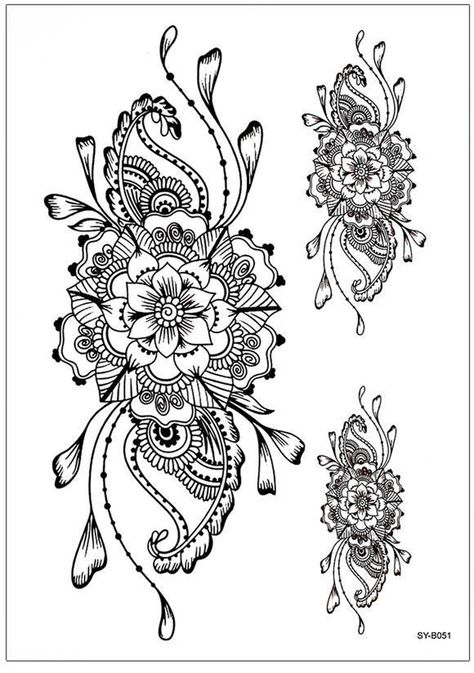 Product Information Product Type: Pair of Tattoo Sheets (2) Tattoo Sheet Size: 21cm(L)*15cm(W) Tattoo Application & Removal Instructions