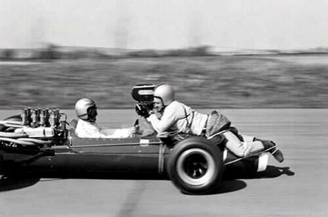 """They used a lot of bungee cords in the filming of """"Grand Prix."""""""
