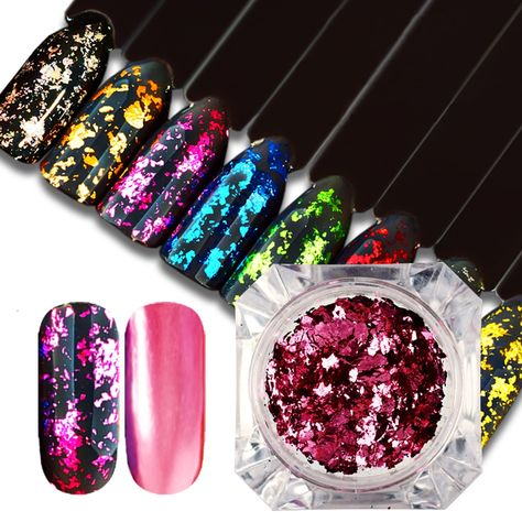 Magic Mirror Glitter Nail Powder Price 795 Free Shipping