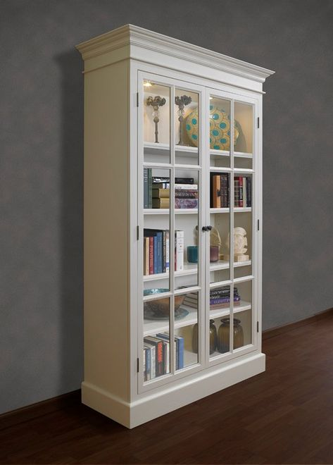 Provence Display Cabinet Furniture Tall Storage