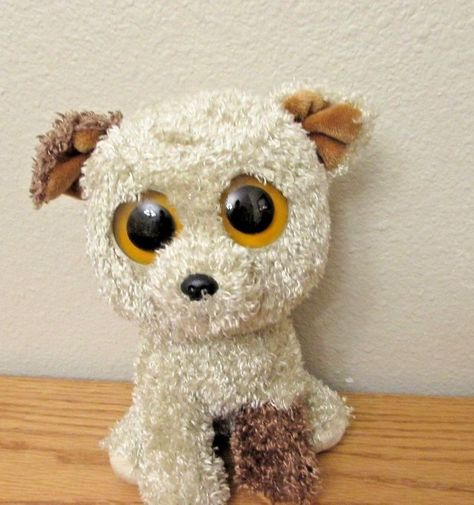 27dd98010bb Ty Beanie Boo Rare Rootbeer the Curly-Haired Dog 9