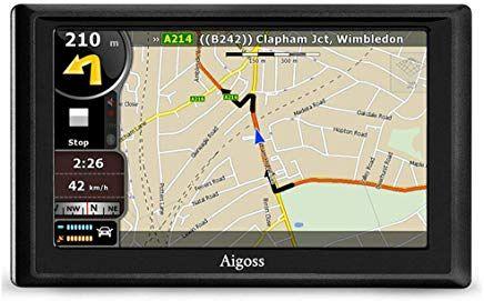 Aigoss Navigation Far Auto 5 Zoll Touchscreen 4gb Gps Navi