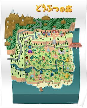 Acnl Town Map : Animal, Crossing, Ideas, Crossing,