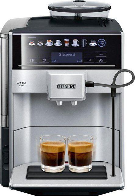 Siemens Eq 6 Te607203rw Super Fully Automatic Espresso Machine Coffee Capuccino Latte Maker Onetouch Doublecup System Silver Espresso Coffee Machine Espresso Machine Automatic Espresso Machine
