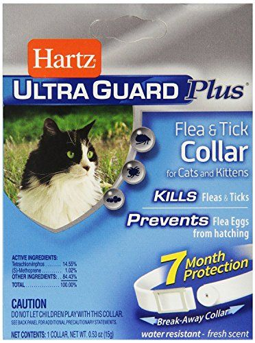 2 Pack Cat Collar Kill Fleas Flea Eggs Ticks Check Out This Great Product This Is An Amazon Affiliate Link And I Rece Cat Fleas Cat Collars Ticks On Dogs