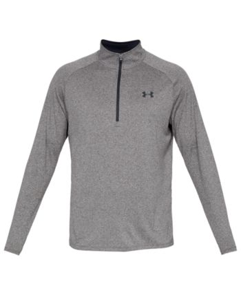 Under Armour Men/'s Fitted Tech Heatgear Sportstyle Logo T-Shirt Black//Grey//Red L