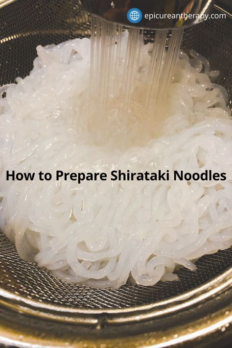 Are you looking for a low-carb or keto noodle solution? Shirataki noodles are the answer! What are shirataki noodles? Shirataki noodles are made from the Japanese konjac yam (aka glucomannan) and are almost zero carbs and zero calories! Tofu Noodles Shirataki, Fideos Shirataki, Keto Noodles, Healthy Noodle Recipes, Recipes With Miracle Noodles, Keto Recipes, Angel Hair, Dukan Diet, Keto Soup