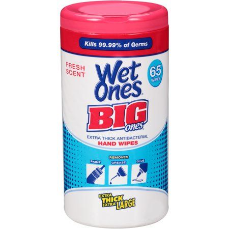 Personal Care Wet Wipe Canisters Hand Sanitizer