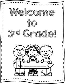 Welcome To 3rd Grade Activity Book 3rd Grade Books Book
