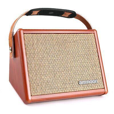 Portable Usb Acoustic Guitar Amplifier Amp Built In Rechargeable Bt Speaker Amplifier Speaker