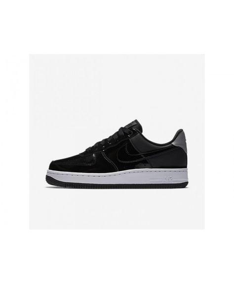 super popular f77b0 41aa7 Nike Air Force 1 07 Se Premium Womens BlackReflect SilverBlack Shoes,  AH6827-001 Cheapest