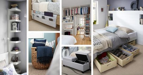 38 Best Bedroom Organization Ideas and Projects for 2019