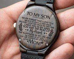 Watch For Men - Great Gift For Son - Son Watch - by HeavenKP on Zibbet