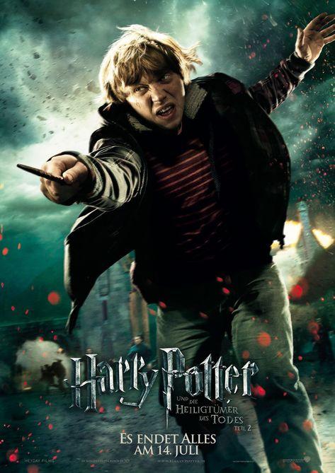 Harry Potter Und Die Heiligtumer Des Todes Teil 2 Movie Poster Ron Weasley Heiligtumer Des Todes Harry Potter Hermione Harry Potter Poster