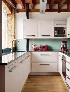 43 Brilliant L Shaped Kitchen Designs 2020 A Review On Kitchen Trends Kitchen Design L Shaped Kitchen Designs New Kitchen Cabinets