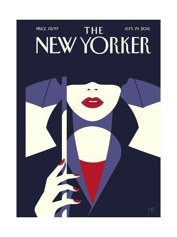 Premium Giclee Print The New Yorker Cover September 19 2016 By Malika Favre 12x9in New Yorker Covers The New Yorker Magazine Cover Ideas