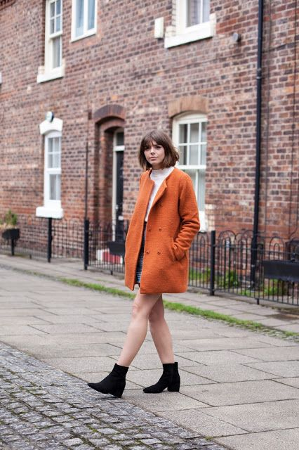 Sophia Rosemary Manchester Fashion And Lifestyle Blogger With Tangerine Coats And Marmalade Skies Coat Fashion Vintage Outfits