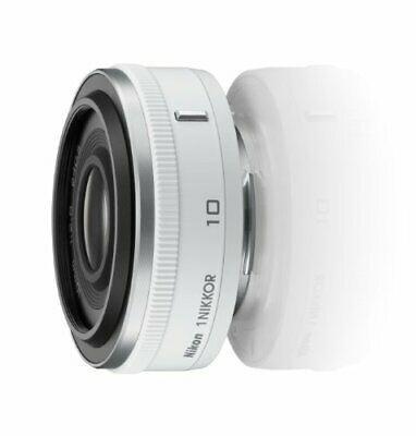 Nikon Single Focus Lens 1 Nikkor 10mm F 2 8 White Nikon Cx Camera Lenses Lens Nikon