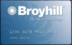 Synchrony Bank Credit Cards >> Broyhill Credit Card Is Issued By Synchrony Bank It Is A