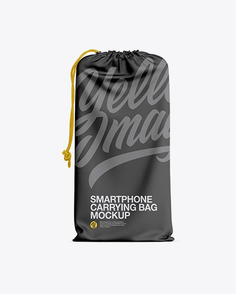 Download Textured Smartphone Carrying Bag Mockup In Apparel Mockups On Yellow Images Object Mockups Bag Mockup Design Mockup Free Mockup Psd