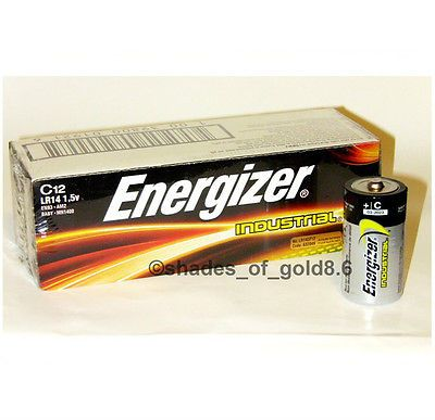 Click Now 12 Energizer Industrial C Alkaline Batteries En93 Lr14 Hurry Energizer Alkaline Battery Button Cell