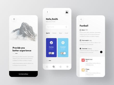Blog App UI (IOS)