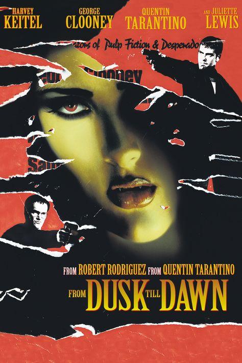 quentin tarantino movie posters | ... Poster Artwork – George Clooney, Quentin Tarantino, Harvey Keitel