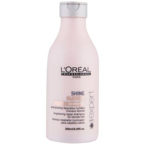 L Oreal Professionnel Shine Blonde Sampunas Sviesintiems Plaukams 250ml Shampoo Loreal Blonde Hair Tips