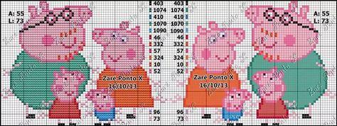 Peppa Pig - ponto cruz