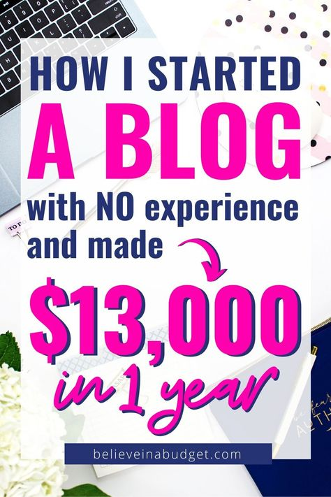 How to Start a Blog Today and Make Money in 2020