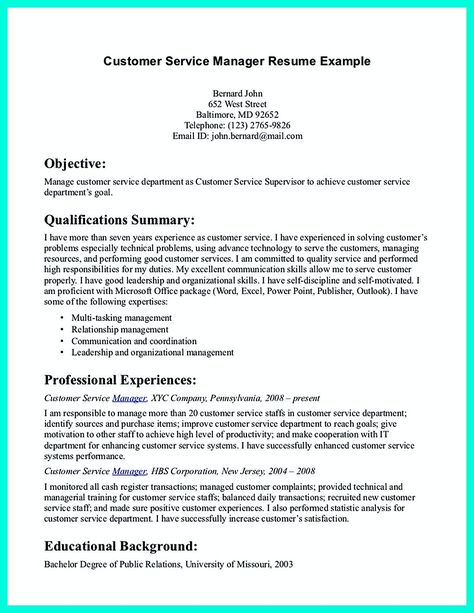 How to write customer service resume The Definitive Guide Skills - customer service resume